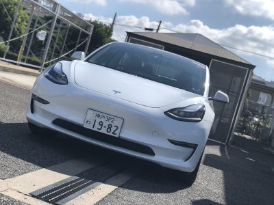 タンメン樫原の高級車レンタカー配達日記158 ~テスラ モデル3~