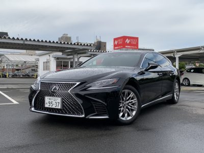 ヘルプ吉村の高級車レンタカー配達日記224~Lexus LS500 EXECUTIVE~