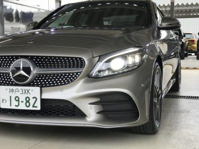 エリーの高級車レンタカー配達日記77〜ベンツ・C200 Avantgarde AMGline mojave silver〜