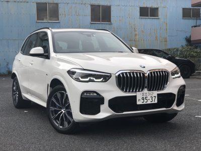 ありー座間の高級車レンタカー配達日記30~BMW X5 xDrive35d Mスポーツ~
