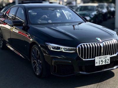 エリーの高級車レンタカー配達日記89〜BMW・740i M sport〜