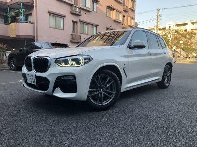 トリプル木村の高級車レンタカー配達日記246~BMW X3 xDrive20d Mスポーツ~
