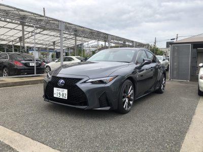 パステラー久冨の高級車レンタカー配達日記3~レクサス IS300h Fsports~
