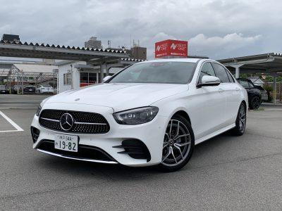 ヘルプ吉村の高級車レンタカー配達日記250〜Mercedes-Benz E200 Sports〜