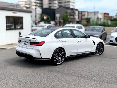 エリーの高級車レンタカー配達日記103〜BMW・M3 competition〜