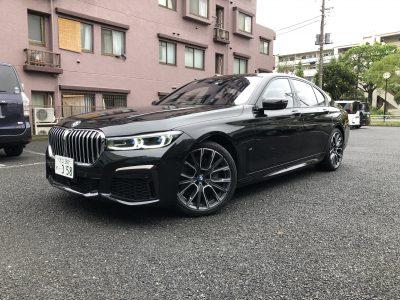 トリプル木村の高級車レンタカー配達日記256~BMW 750i xDrive Mスポーツ~