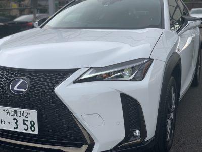 タンメン樫原の高級車レンタカー配達日記187~LEXUS UX250h Fスポーツ~