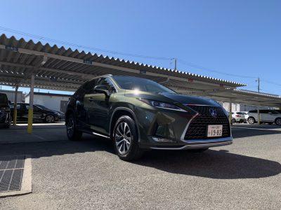 ボーイの高級車レンタカー配達日記51〜レクサス RX450h〜